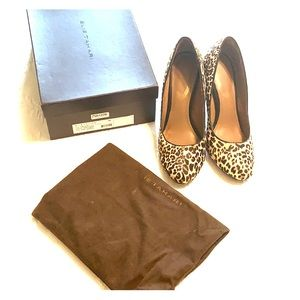 Elie Tahari 100% leather Bretta leopard pump (38)